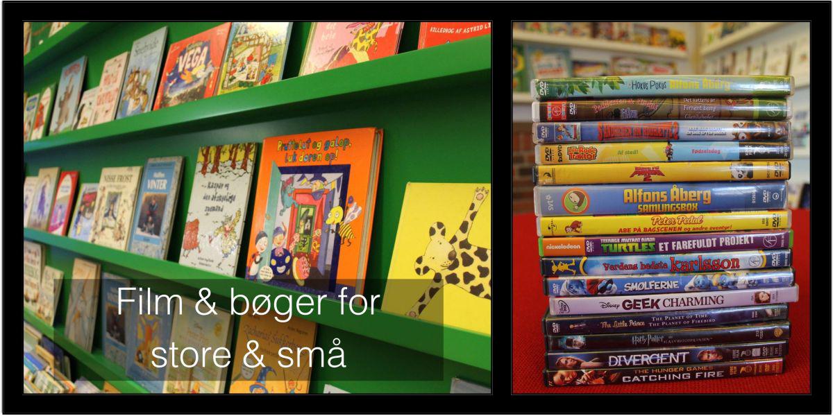 Film og bøger for store og små