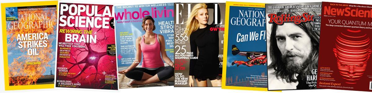 Zinio - engelsksprogede magasiner