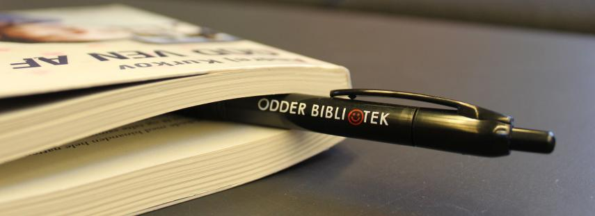 Odder Bibliotek kuglepen