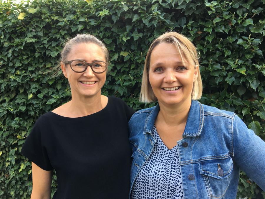 Malene Munk og Gitte Buur