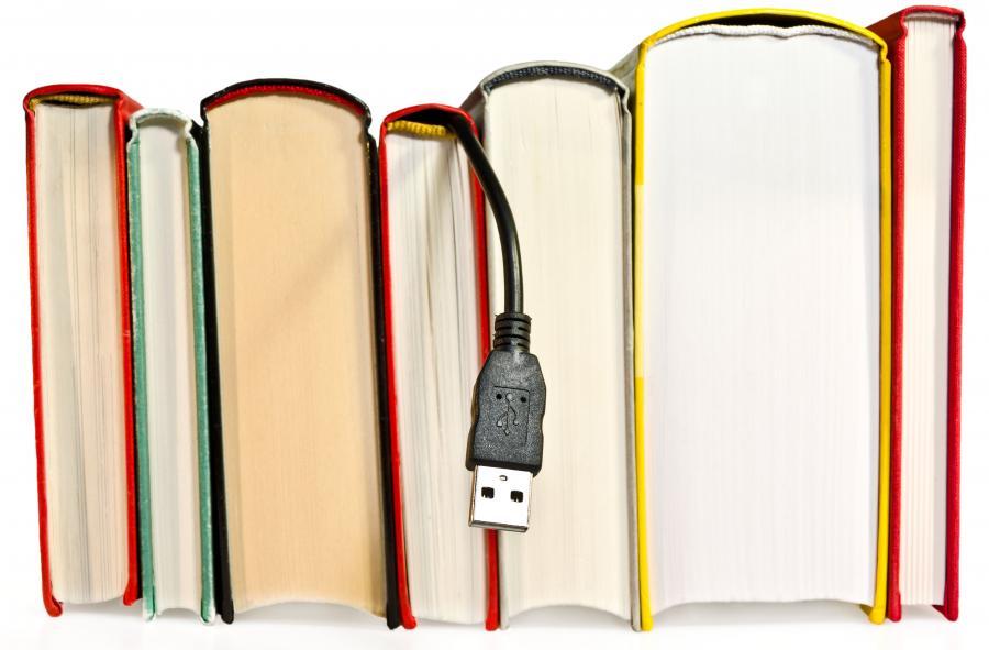 Bøger med USB-stik